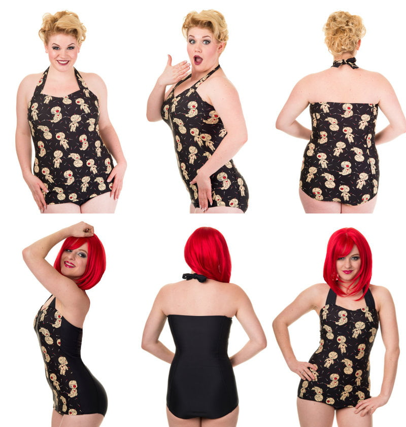 Standard and Plus Size Swimwear
