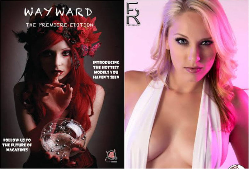 Wayward Magazine from Kiss Me Naughty