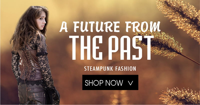 Steampunk Fashion for Cosplay on RebelsMarket
