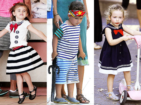 Kids look precious in nautical styles