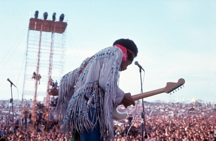 Woodstock and the movement were worthless without music