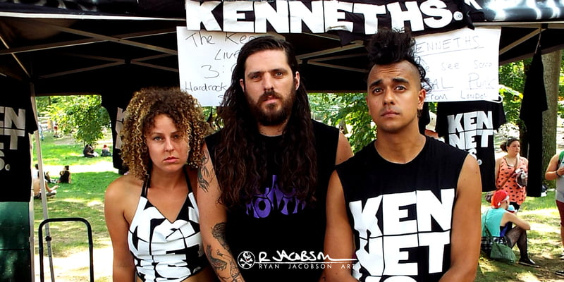 The Kenneths are reviving the early Punk Rock sound