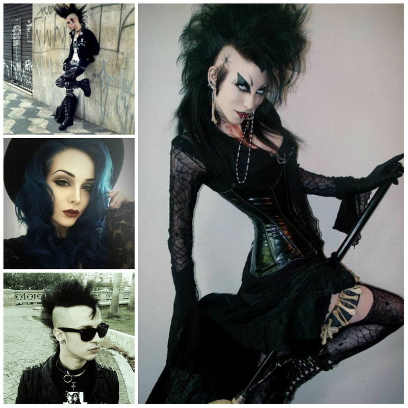 The Classic Or Deathrock Style Is One Most People Think About When Picturing A Goth Completely Eschewing Societal Norms Of Beauty Their Look