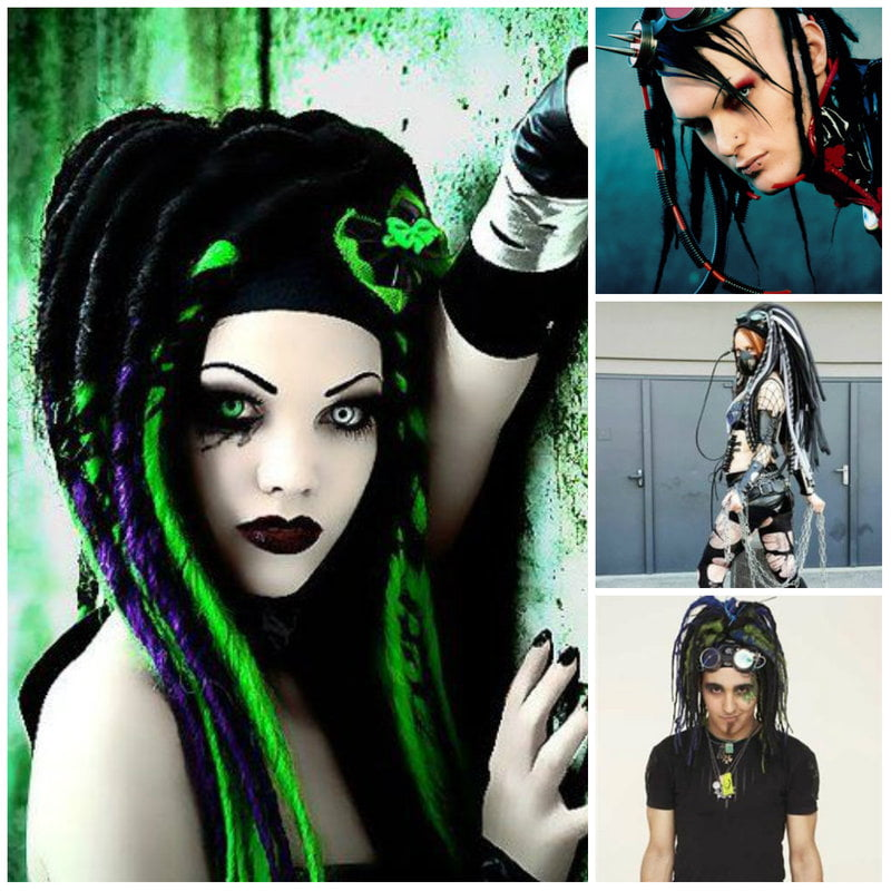 Cybergoth Gothic Fashion and Clothing