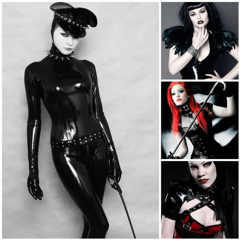 Fetish Goth Fashion and Clothing, Latex, Rubber, and Vinyl