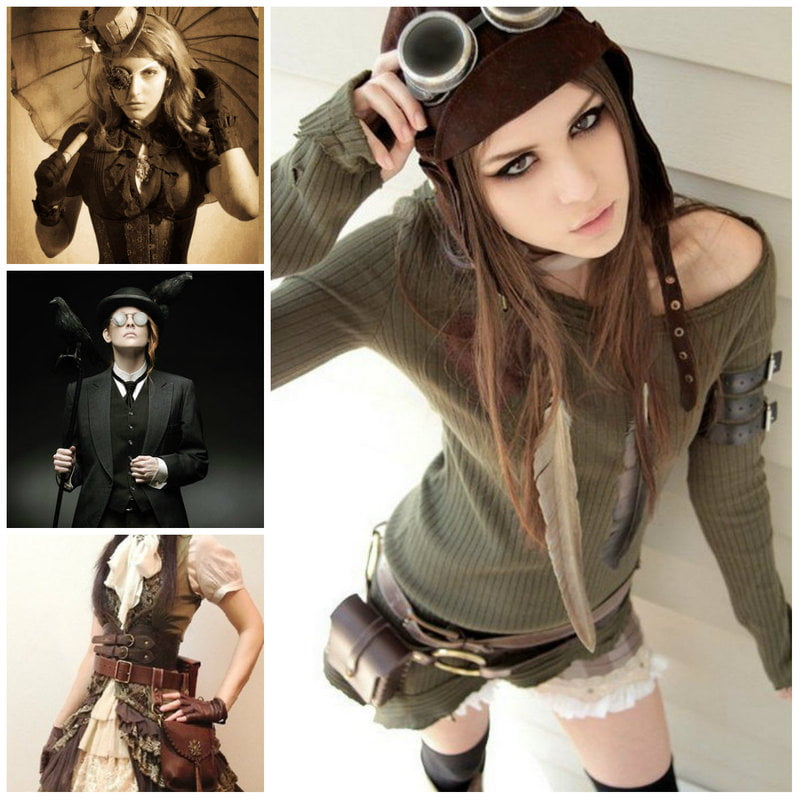 Steampunk Fashion and Clothing