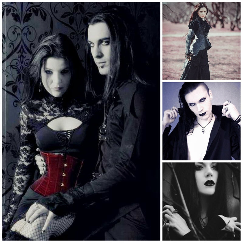 Victorian, Vamp, and Romantic Gothic Fashion Styles