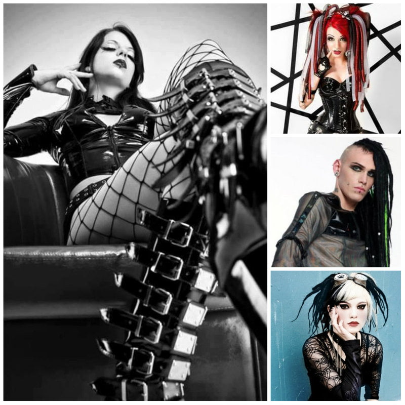 Industrial, Rivet, and Rivethead Goth Fashion and Clothing
