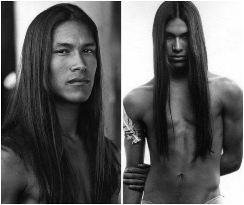 Native American Celebrity Rick Mora