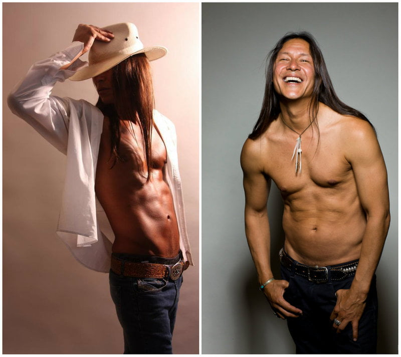 Rick Mora has had a successful career modeling
