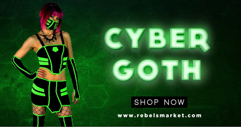 Shop Cybergoth Clothing at Rebels Market