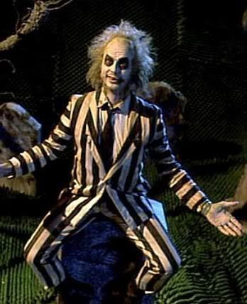 Beetlejuice brought back stripes in a big way