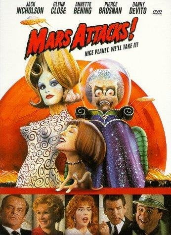 Mars Attacks! Influenced kitschy fashion