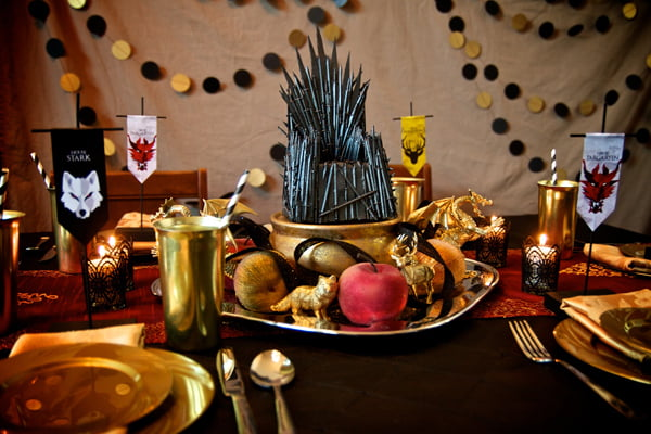 Game of Thrones party theme