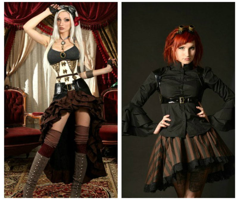 Dressing in the Steampunk style for fall