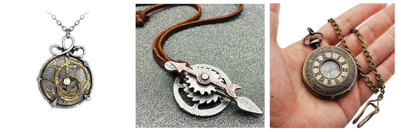 Steampunk Jewelry and Accessories
