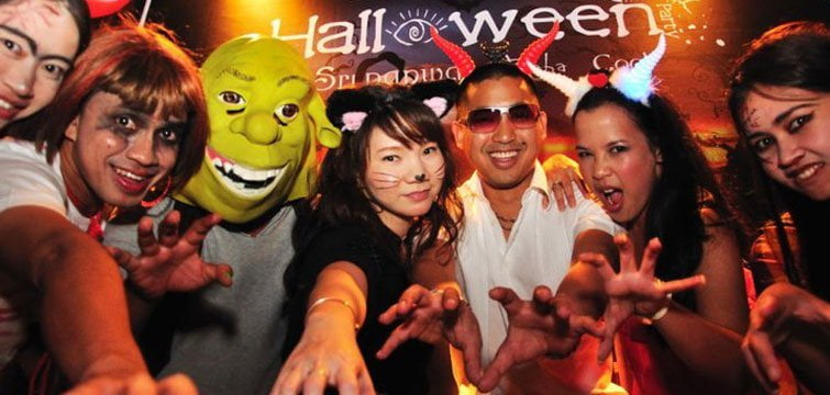 Silom Soi 4 Halloween Party