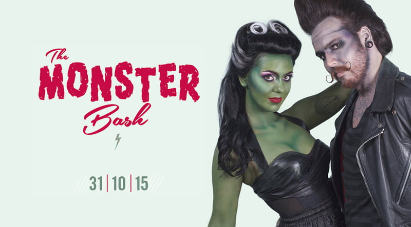 Amsterdam Spook The Monster Bash Halloween 2015