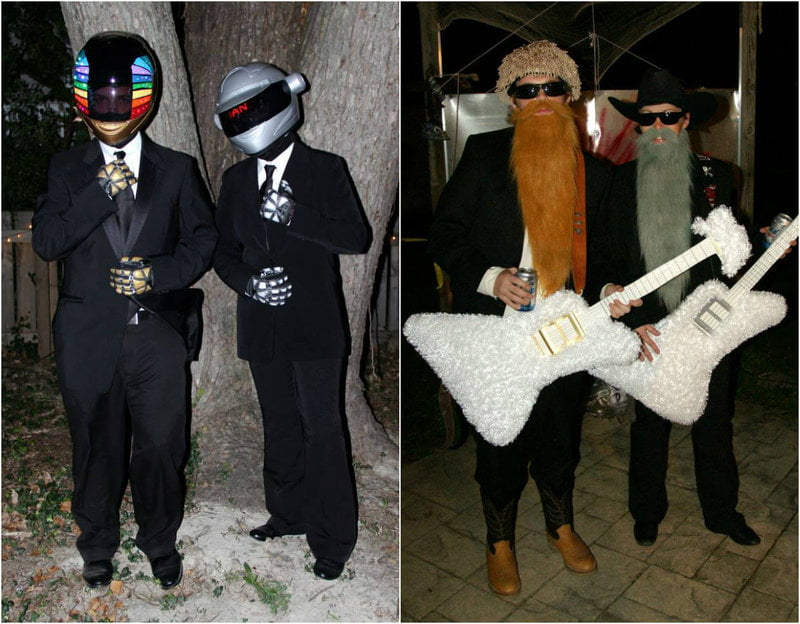 Daft Punk and ZZ Top