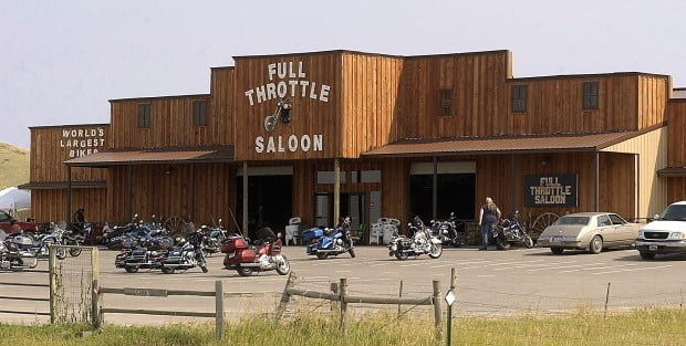 The Full Throttle Saloon before the fire