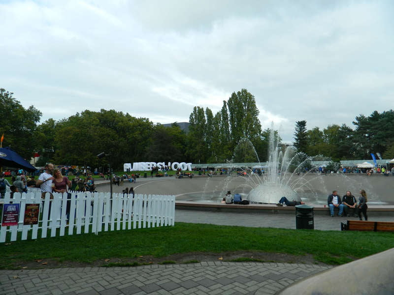 The Fountain Lawn at Bumbershoot 2015