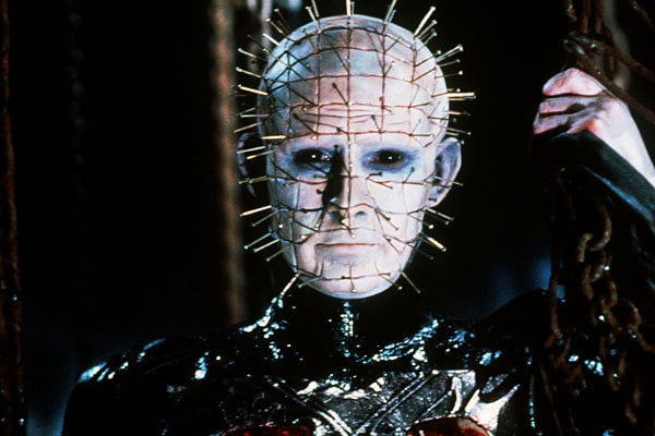 Pinhead from the Hellraiser movies