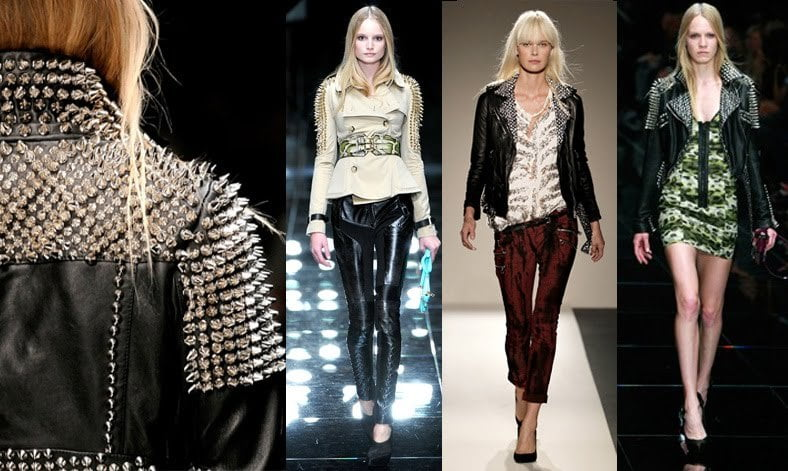 The Glam Punk look is showing up on runways. Buy Glam punk at RebelsMarket!