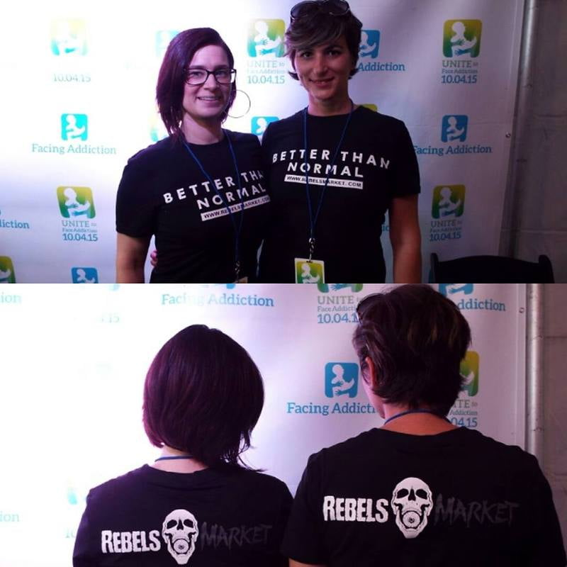 RebelsMarket was proud to join thousands of people from across the country to Unite to Face Addiction.