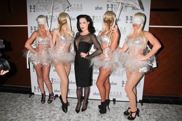 Dita Von Teese's style is easy to find if you shop at RebelsMarket.