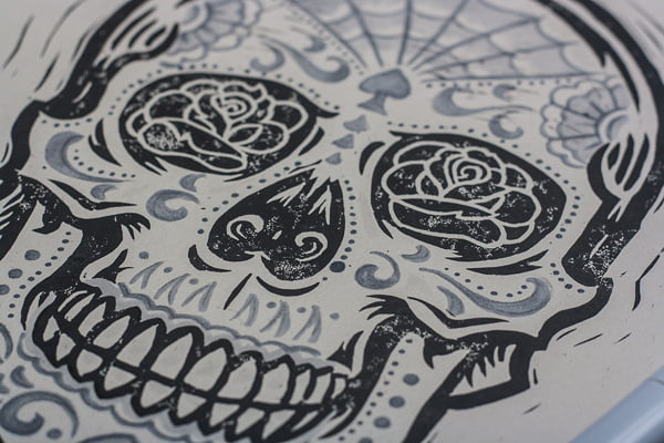 Sugar skull tattoos are increasingly popular