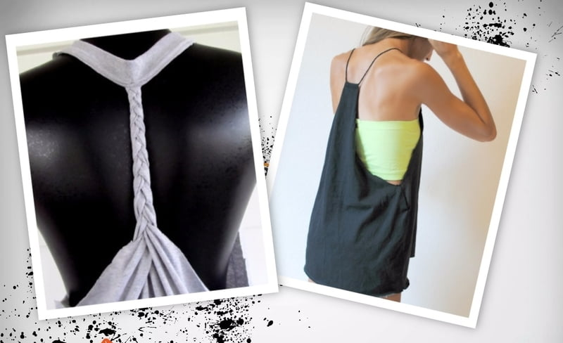 DIY Frankenshirts are unique and one of a kind, and range from workout ready to club-worthy.