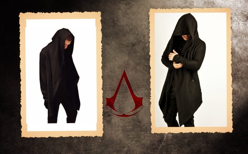 Hooded Assassin's Creed clothing is gaining in popularity.