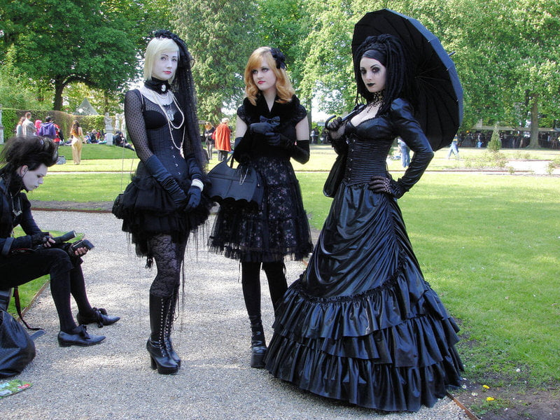 Gothic Lolita fashion is one Japanese style that has been gaining a following across the world.