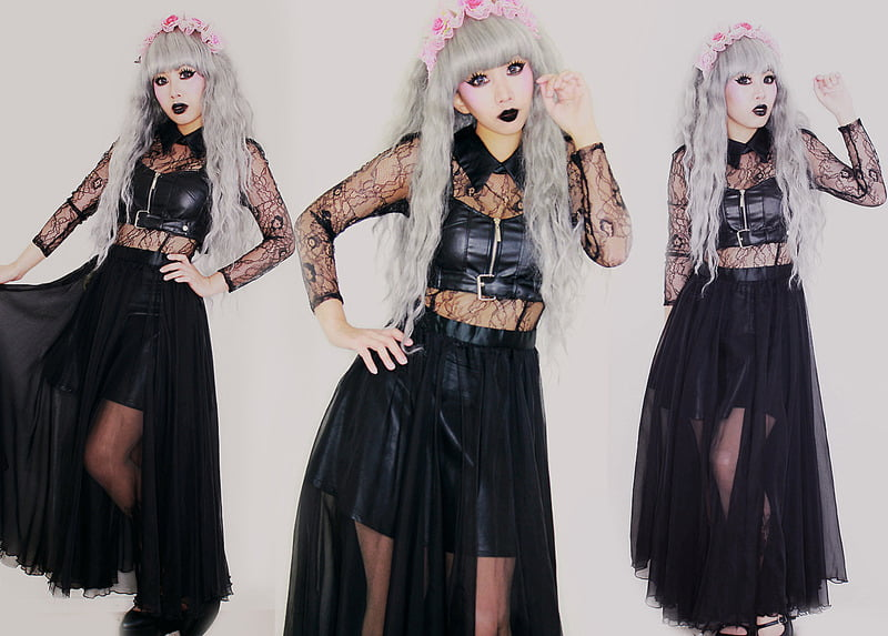 Pastel Goth is another Japanese trend that is gaining popularity across the globe, particularly in metropolitan areas.