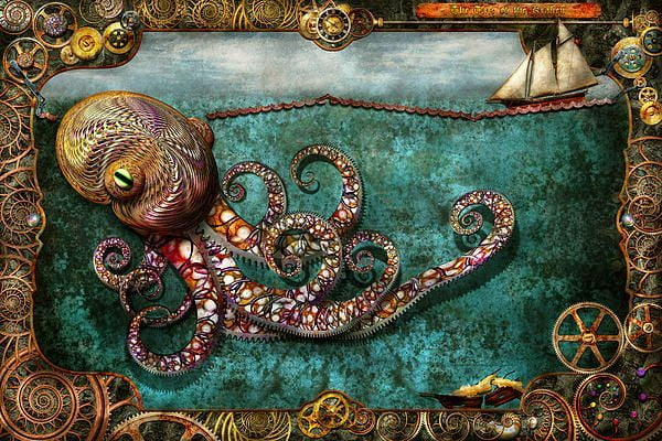 The Kraken is a mythical creature with tentacles who is also showing up in fashion.