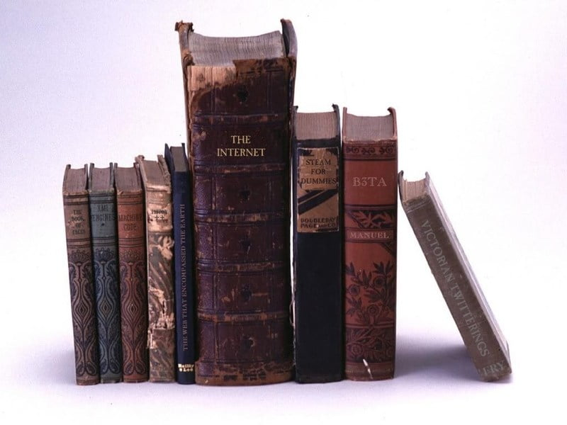 To trace the history of steampunk, we need to go back to books.