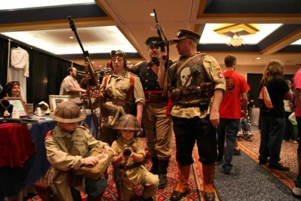 Steampunk is a very inclusive genre, with aspects that can appeal to many different people of all ages.
