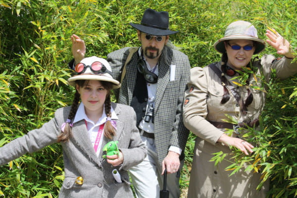Steampunk is a character-driven fashion, as these adventurers show.