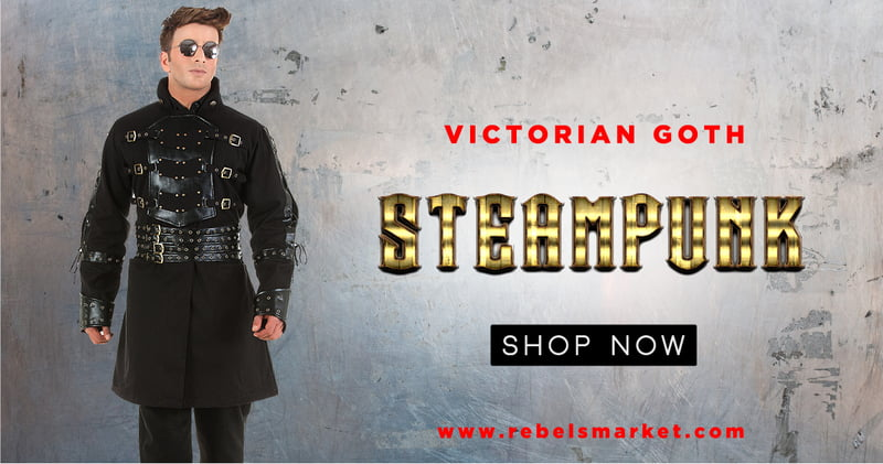 Shop the amazing collection of Steampunk clothing at RebelsMarket!