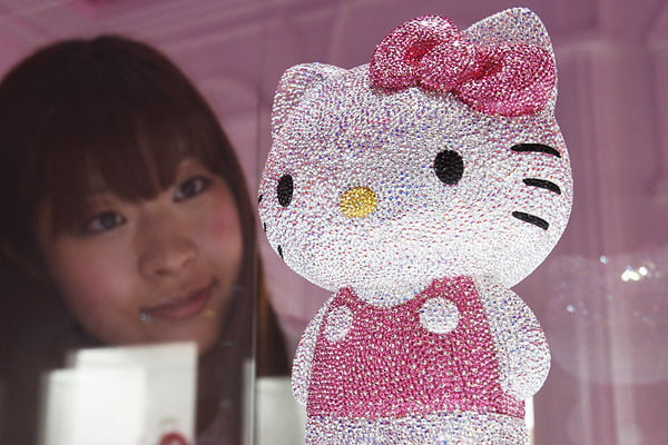 Hello Kitty is a classic kawaii icon.