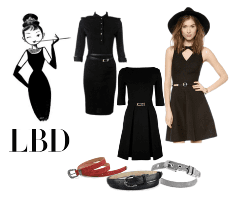 Add a chic touch of vintage to your little black dress!
