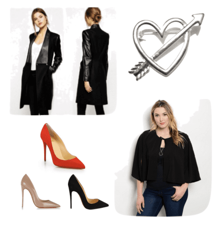 Make a simple statement with minimalist fashion on Valentine's Day!