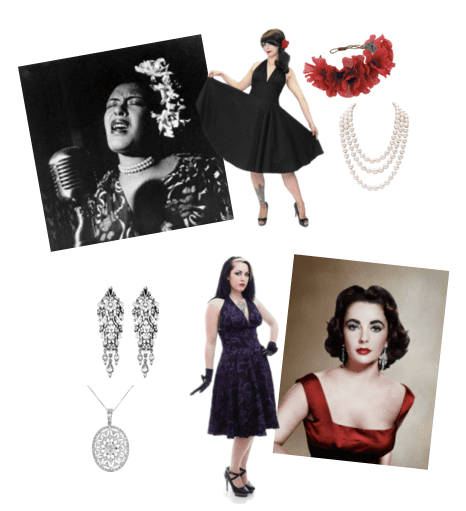 These looks are great Valentine's Day fashion options for vintage lovers!