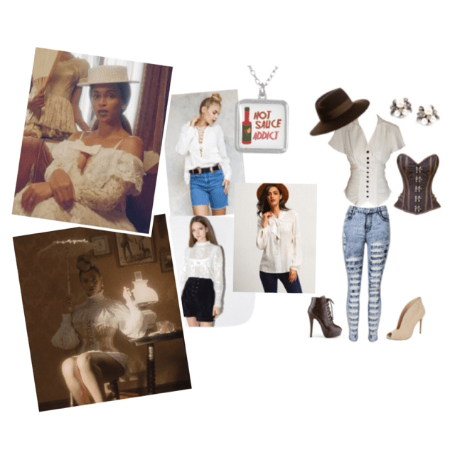 Southern belle style inspiration from new Beyonce video!