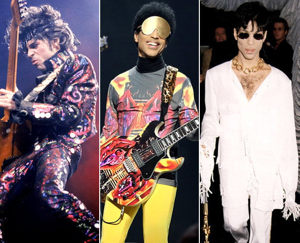 Prince's style evolution over the years