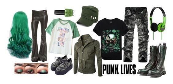 Celtic Punk Style for Shamrock Fest