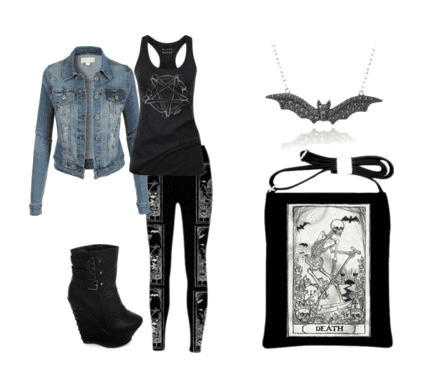 Tarot fashion for the girls!