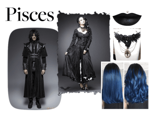 The Goth Zodiac Wanna Dress For The Dark Side Of Your Sun Sign