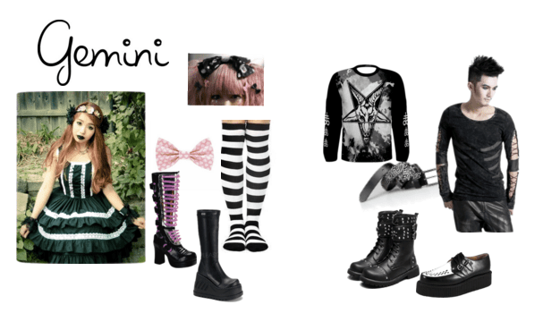 Gothic Lolita and Baby dresses for the Gemini Goth!
