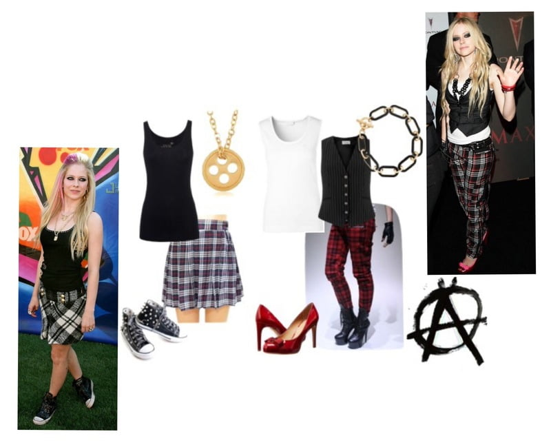 Steal the look -- Avril Lavigne rocks plaid perfectly!